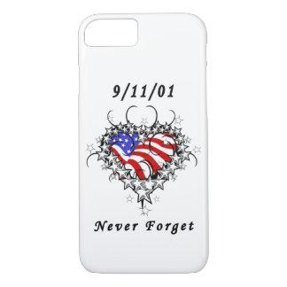 911入れ墨は決して忘れません iPhone 8/7ケース