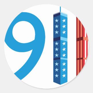 911決して忘れないで下さい ラウンドシール