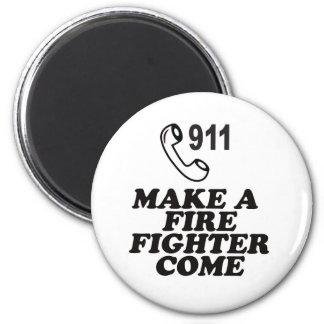 911火に電話をかけて下さい マグネット