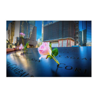 911記念NYC アクリルウォールアート
