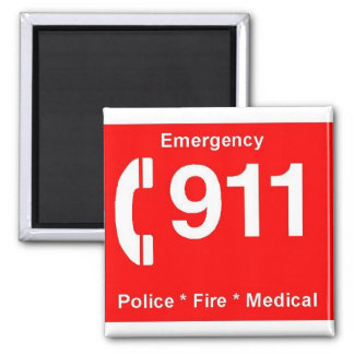 911 マグネット