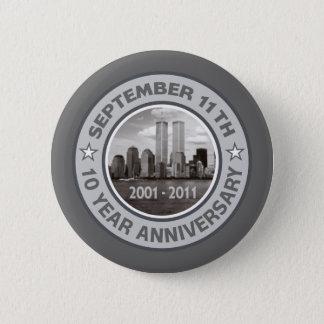 911 10年記念日 缶バッジ