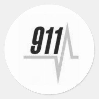 911 EKGのストリップ ラウンドシール