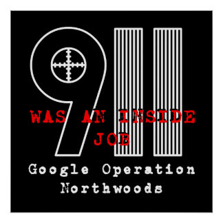 911 Northwoods ポスター