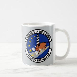 916th土木技師の艦隊 コーヒーマグカップ