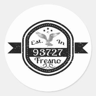 93727フレズノに確立される ラウンドシール
