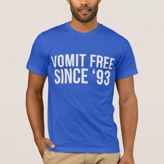 「93 Tシャツ以来自由な吐物 Tシャツ