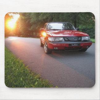 「95 Saab 900 SE マウスパッド