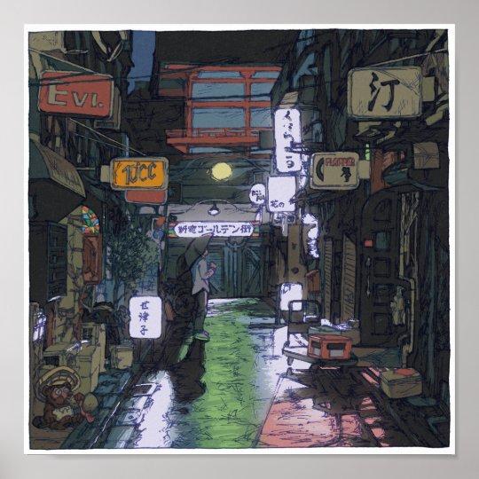 95:Shinjuku Golden Gai/Shinjuku ポスター
