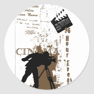 96時間のフィルムのイベント ラウンドシール