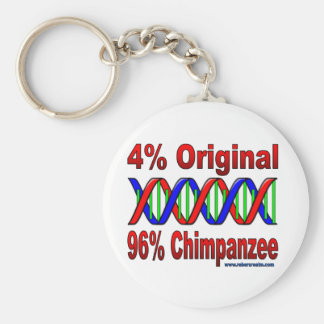 96%のチンパンジー キーホルダー
