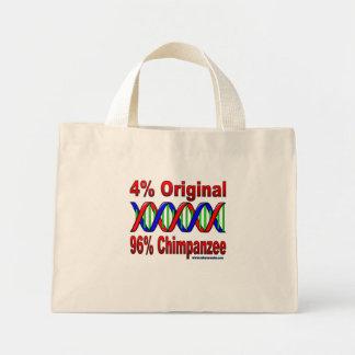 96%のチンパンジー ミニトートバッグ