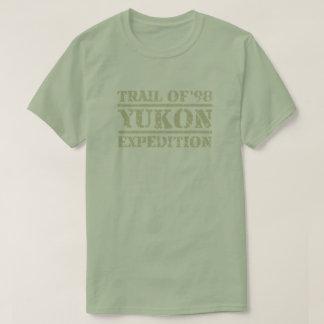 「98ユーコン準州の探険のTシャツの道 Tシャツ