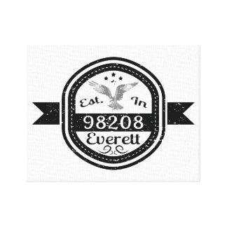 98208 Everettに確立される キャンバスプリント