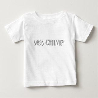 98%のチンパンジー ベビーTシャツ