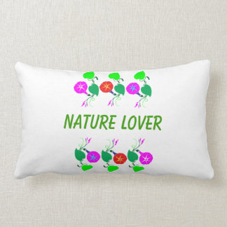 99個のギフト: 自然恋人のガーリーな花のプリント ランバークッション