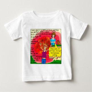 994 Hornymonesの10代のなわめく漫画 ベビーTシャツ