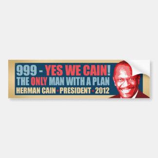 999 - Yes私達カイン-ヘルマンカインの大統領 バンパーステッカー