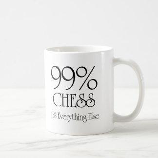 99%のチェス コーヒーマグカップ