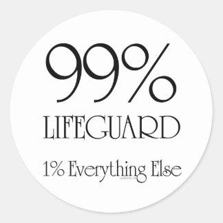 99%のライフガード ラウンドシール