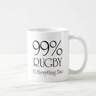 99%のラグビー コーヒーマグカップ