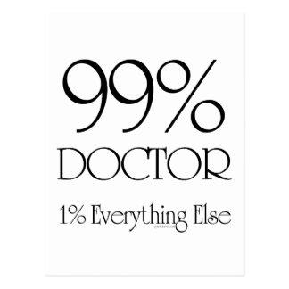 99%の医者 ポストカード