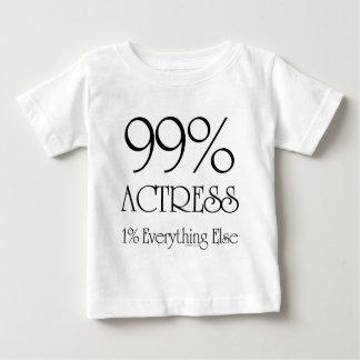 99%の女優 ベビーTシャツ