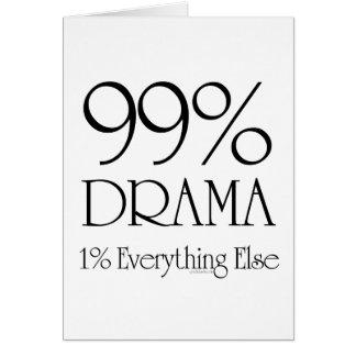 99%の戯曲 グリーティングカード