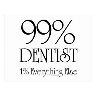 99%の歯科医 ポストカード