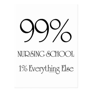 99%の看護専門学校 ポストカード