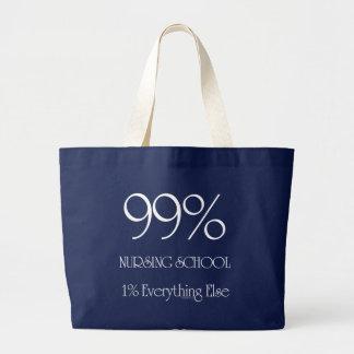 99%の看護専門学校 ラージトートバッグ
