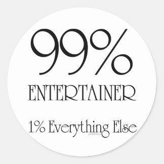 99%の芸能人 ラウンドシール