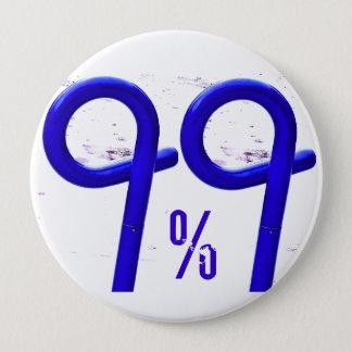 99%の青 缶バッジ
