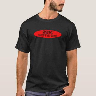 99%はセントルイスを占めます Tシャツ