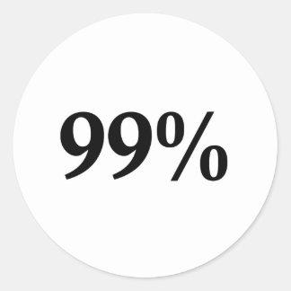 99% ラウンドシール