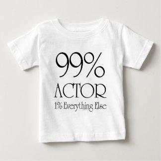 99%俳優 ベビーTシャツ