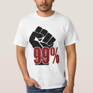 99%握りこぶし Tシャツ