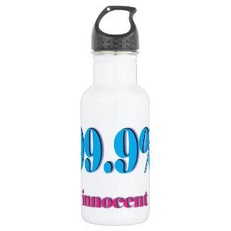 99.9%潔白な人 ウォーターボトル