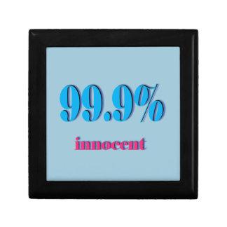 99.9%潔白な人 ギフトボックス