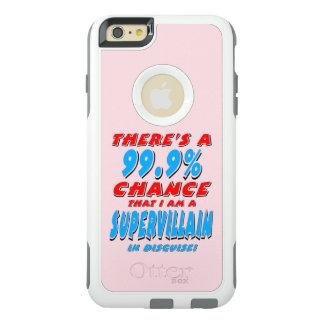 99.9%私は極度の悪人(blk)です オッターボックスiPhone 6/6s plusケース