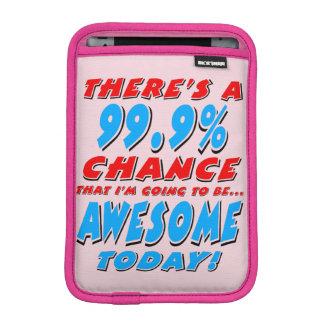 99.9%素晴らしい行くこと(blk) iPad miniスリーブ