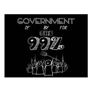 99% occupy wall streetの動き ポストカード