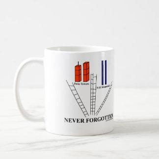 9/11の決して忘れられたマグ コーヒーマグカップ