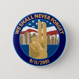 9/11の記念の記号ボタン 缶バッジ