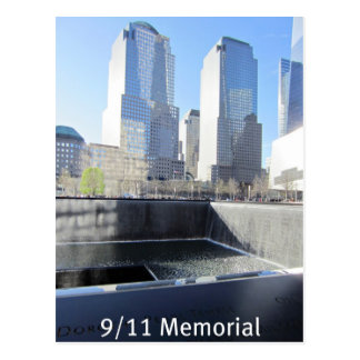 9/11の記念物 ポストカード