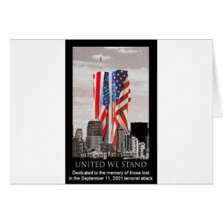 9/11を覚えて下さい カード
