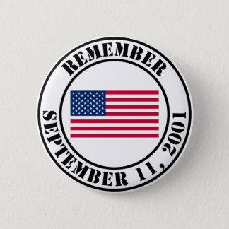 9/11を覚えて下さい 缶バッジ