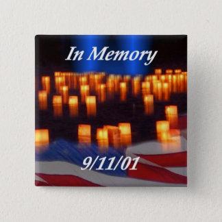 9/11を記念して! 缶バッジ