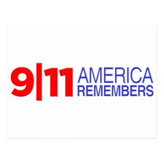 9/11アメリカは覚えています ポストカード