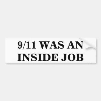 9/11中仕事はありました バンパーステッカー